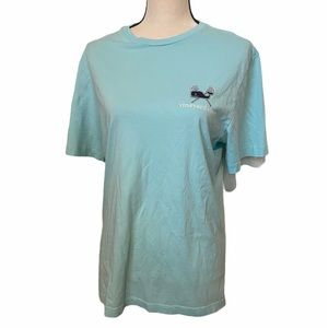 Vineyard Vines Lax blue size small t shirt.